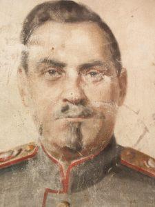 Degerby Igor Marsakka Bulganinin muotokuva
