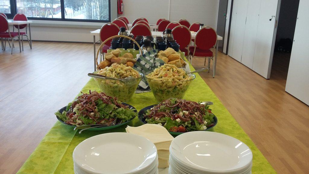 Fennia Arena ruokailu
