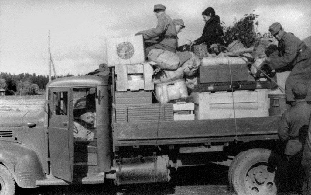 Porkkala evakuointi evakuering evacuation 1944