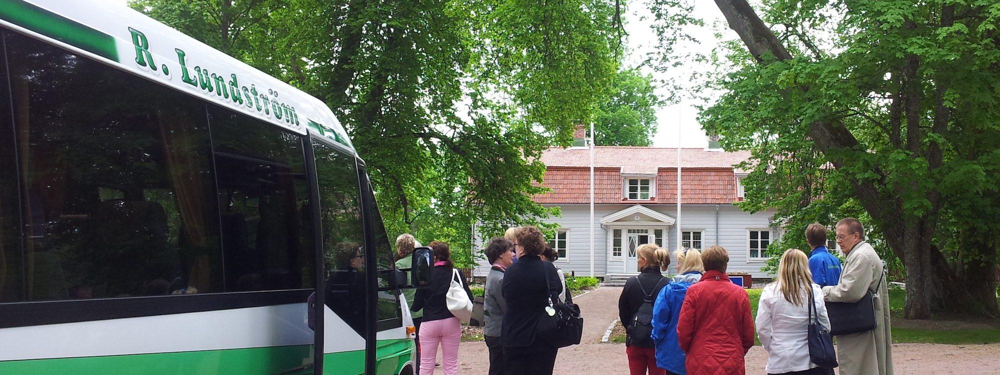 Porkkalan parenteesi Charterbus R Lundström