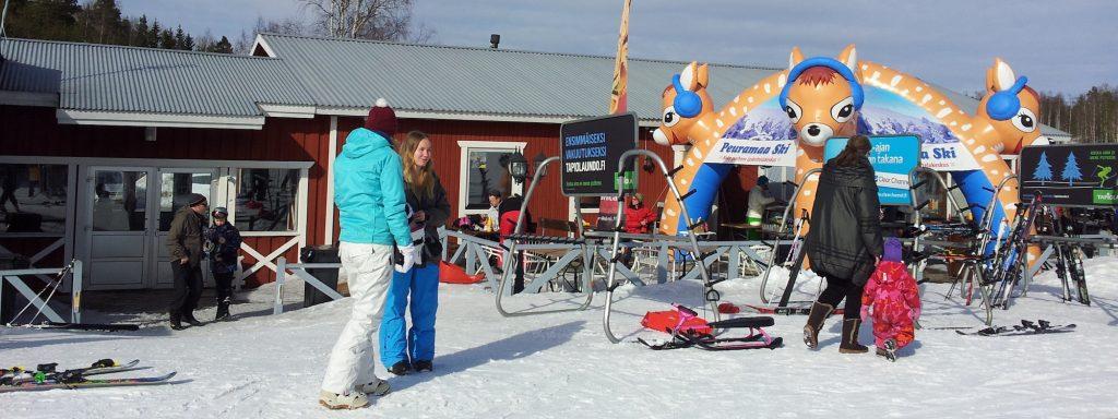 Porkkalan parenteesi Peuramaa Ski