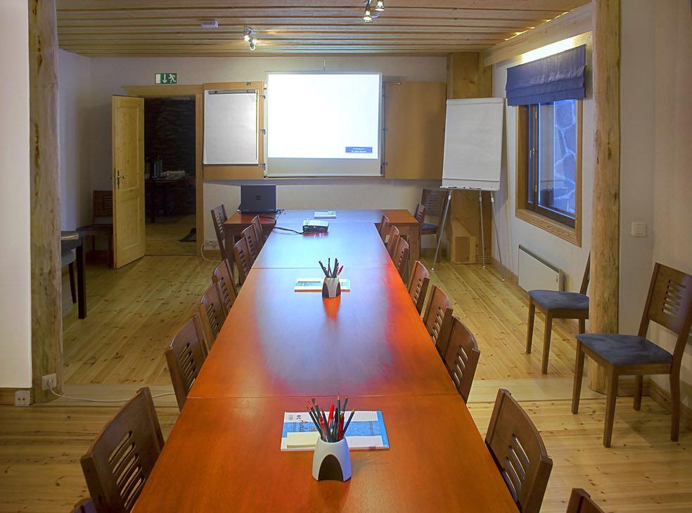 Villa Kotkankallion kokoustilat