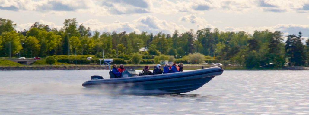 Porkkalan parenteesi Sea Adventures Finland Oy RIB-safari Keilaniemi
