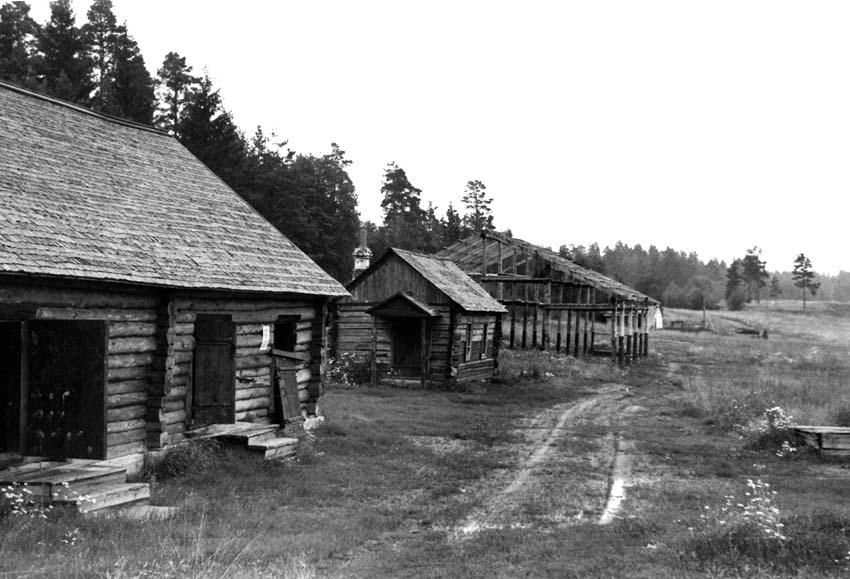 Venäläinen kylä - Rysk by - Russian village 1956