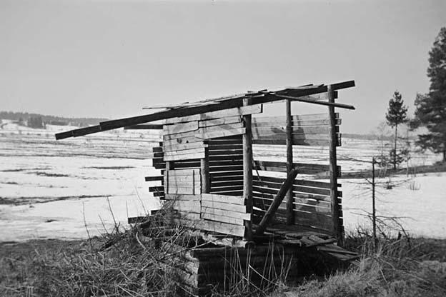 Venäläinen käymälä - Ryskt dass - Russian outhouse 1956