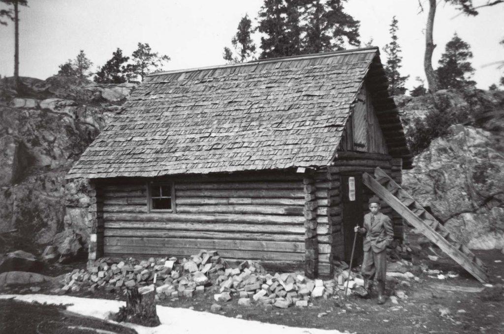 Venäläinen talo - Ryskt hus - Russian house 1956