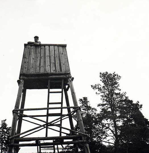 Venäläinen torni - Ryskt torn - Russian tower 1956