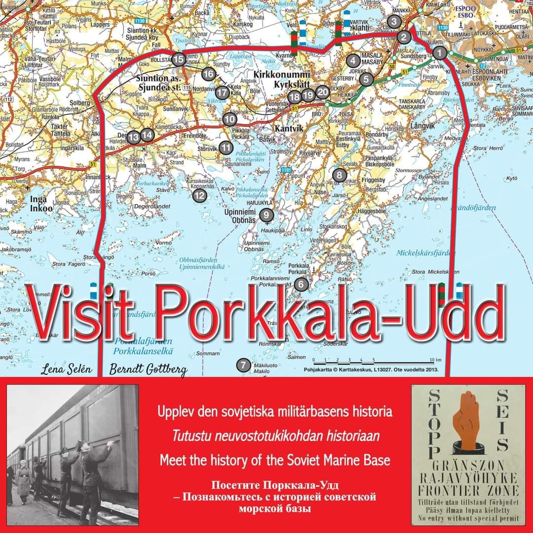 Visit Porkkala-Udd